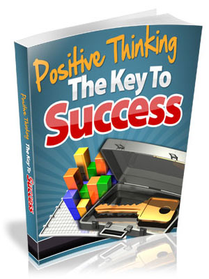Key To Success Positive Thinking